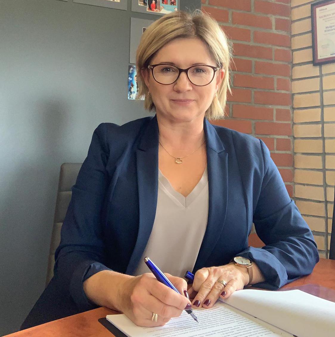 Dyrektor Małgorzata WIśniewska